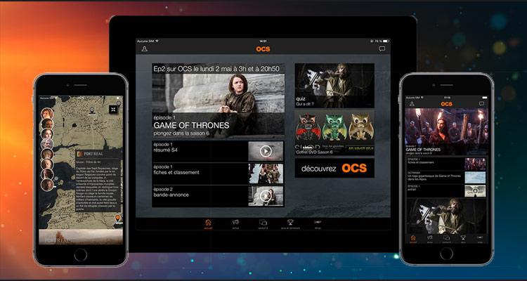 Capture d'écran OCS GoT Officiel Android