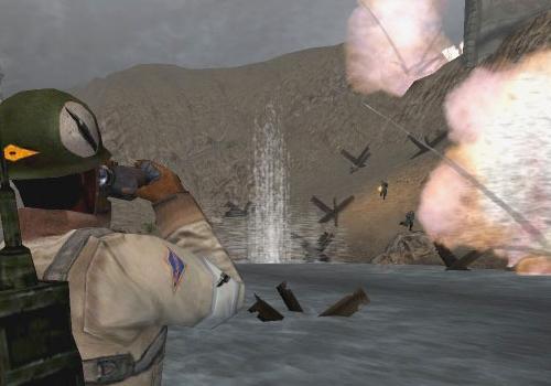 Capture d'écran Wolfenstein Enemy Territory