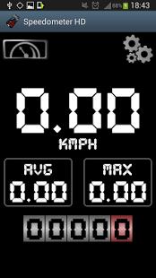 Capture d'écran HD Speedometer GPS
