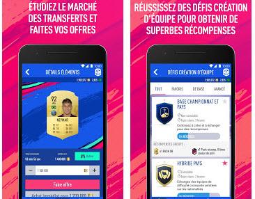 Capture d'écran FIFA 19 Companion Android