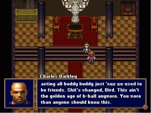 Capture d'écran Barkley Shut Up and Jam Gaiden