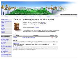 Capture d'écran CDBFAPI.DLL
