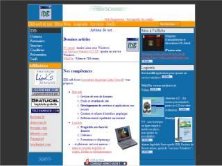 Capture d'écran SauvegardeIDB