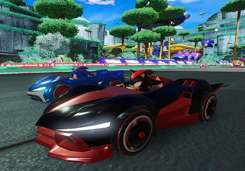 Capture d'écran Team Sonic Racing
