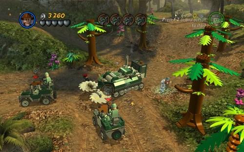 Capture d'écran LEGO Indiana Jones 2 : L'aventure Continue – Mac