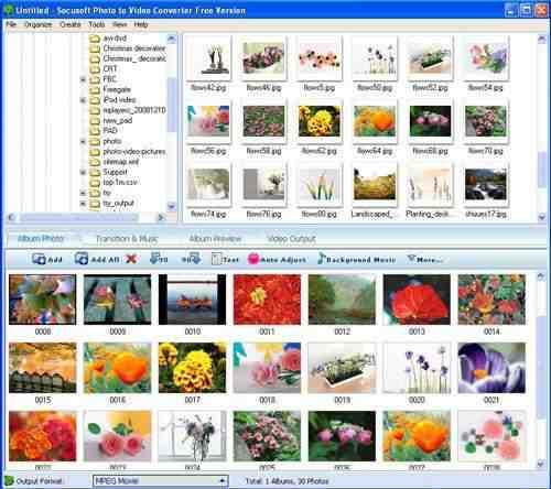 Capture d'écran Photo to Video Converter Free Version