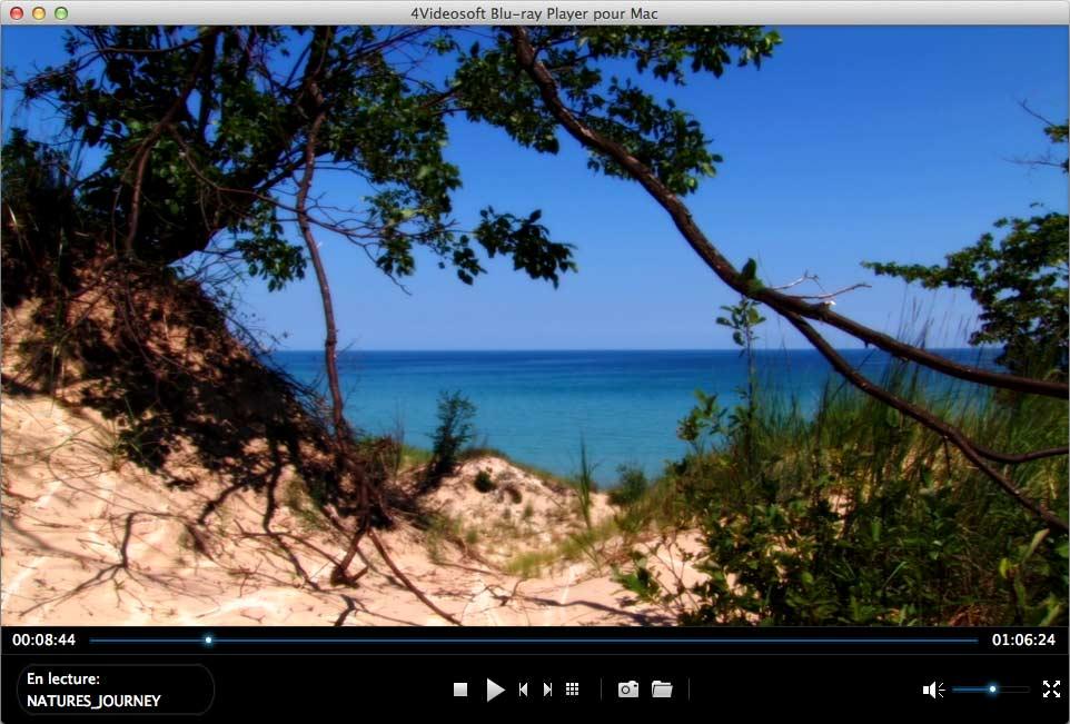 Capture d'écran 4Videosoft Blu-ray Player pour Mac
