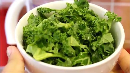 Capture d'écran Vert alimentation smoothie