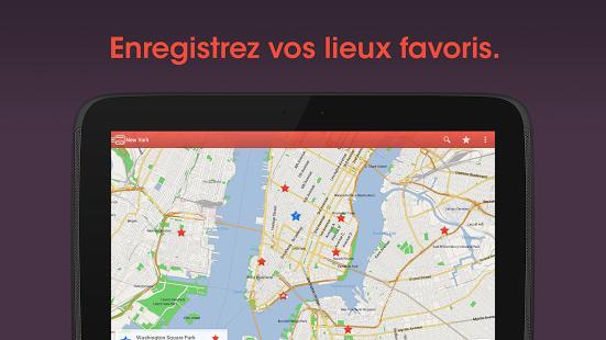 Capture d'écran CityMaps2Go Pro Carte Offline