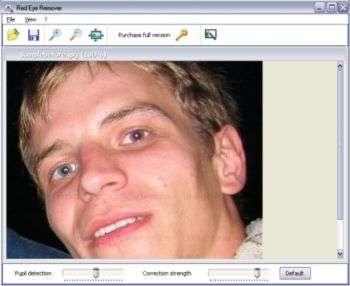 Capture d'écran Anti Red Eye