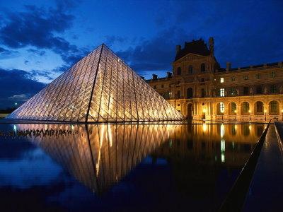 Capture d'écran Louvre Night Screensaver