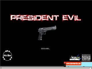 Capture d'écran President Evil