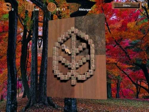 Capture d'écran Mah-Jong master 3D TR