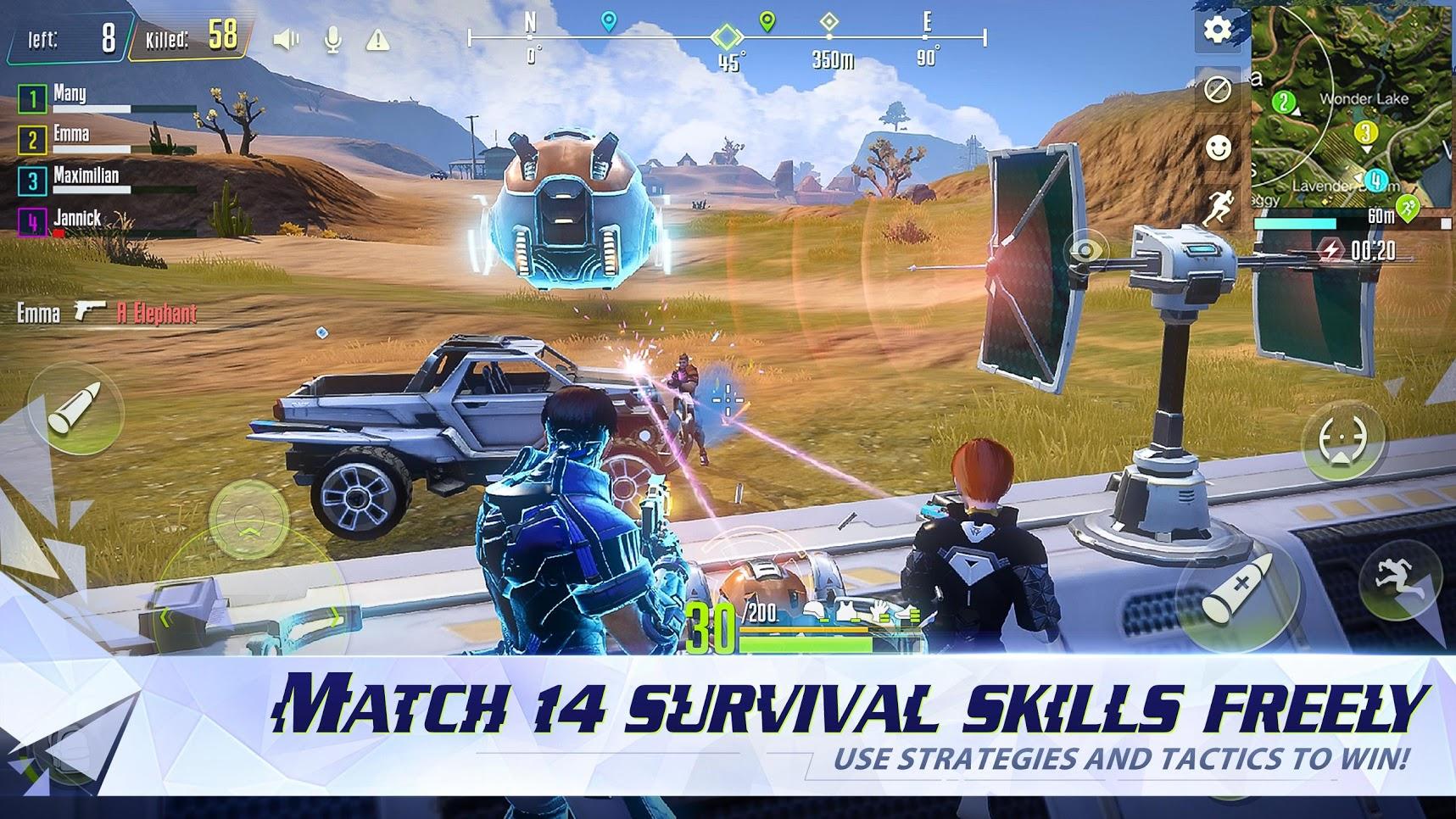 Capture d'écran Cyber Hunter iOS