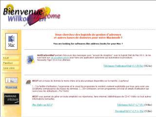 Capture d'écran Notification4Mail