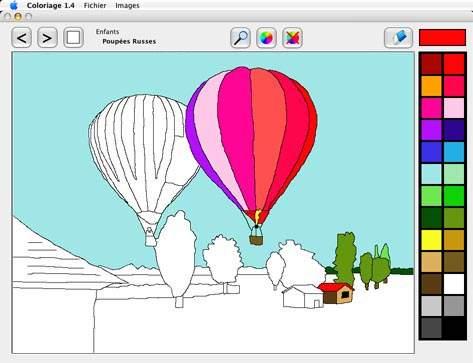 Capture d'écran Coloriage