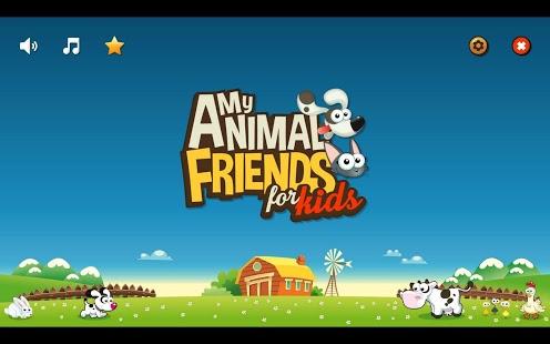 Capture d'écran My Animal Friends