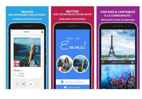 Capture d'écran Vivalanga Android