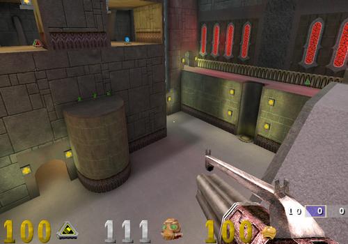 Capture d'écran OpenArena Mac