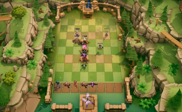 Capture d'écran Autochess Legends Mobile