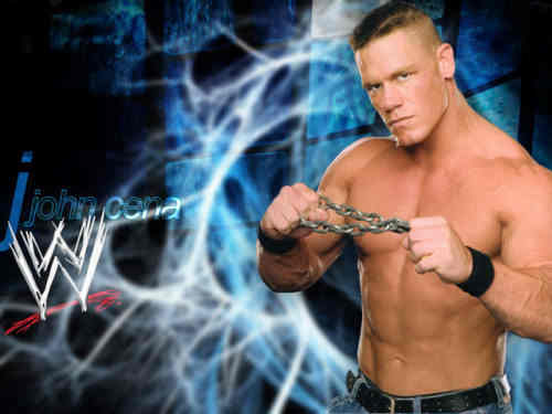 Capture d'écran John Cena's Photos Screensaver