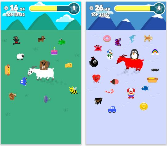 Capture d'écran Goat Rider iOS