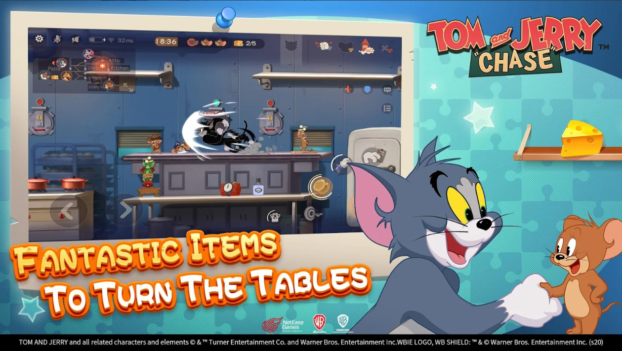 Capture d'écran Tom and Jerry: Chase for Android