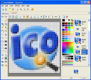 Capture d'écran IconoMaker