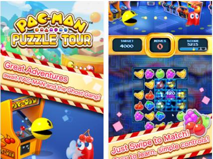 Capture d'écran Pacman Puzzle Tour Android
