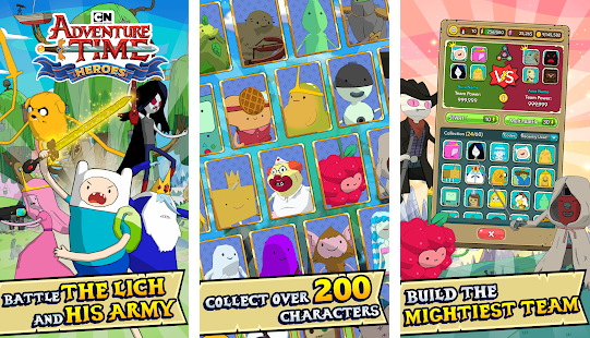 Capture d'écran Adventure Time Heroes Android