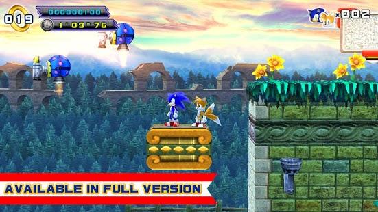 Capture d'écran Sonic 4 Episode II LITE