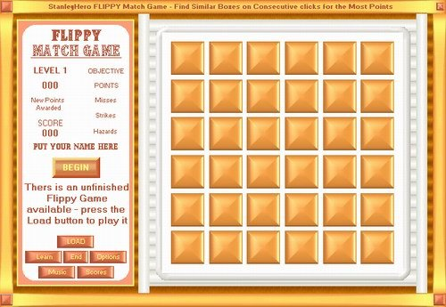 Capture d'écran Flippy Match Game
