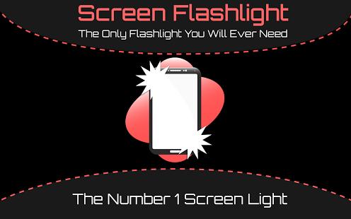 Capture d'écran Lampe de poche à l'écran