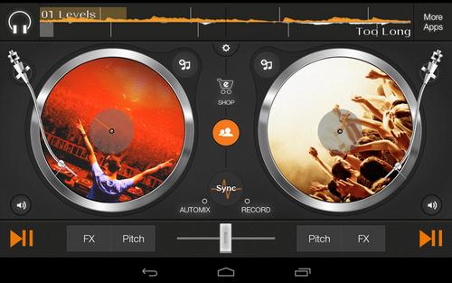 Capture d'écran Edjing Android