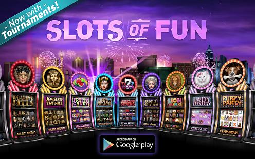 Capture d'écran Slots of Fun Free Casino Game