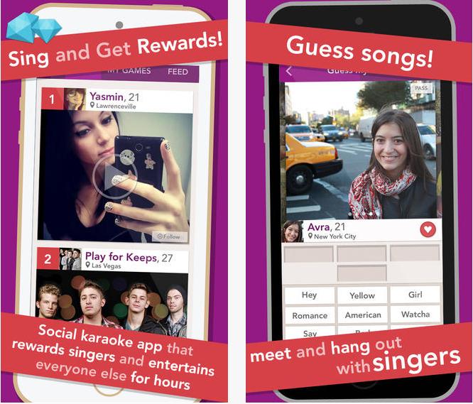 Capture d'écran Just Sing It iOS