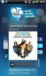 Capture d'écran Web Radio Disney Channel