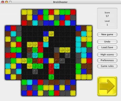 Capture d'écran BrickShooter for Mac