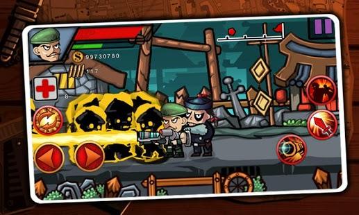 Capture d'écran Zombie Guerrier – Cartoon War
