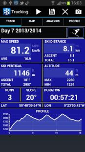 Capture d'écran Ski Tracks