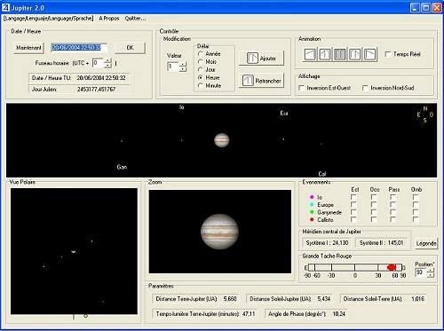 Capture d'écran Jupiter 2