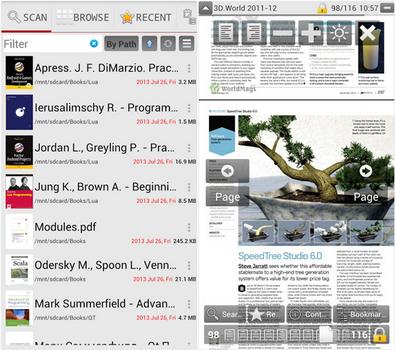 Capture d'écran PDF Reader Lire Android