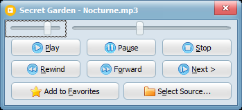 Capture d'écran Vov Music Player