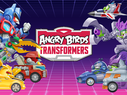 Capture d'écran Angry Birds Transformers