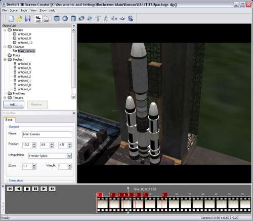 Capture d'écran 3D Screen Creator