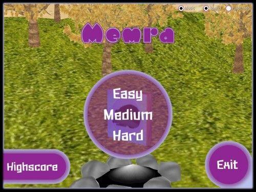 Capture d'écran Memra