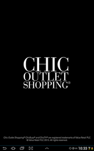 Capture d'écran Chic Outlet Shopping