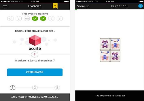 Capture d'écran Fit Brains Trainer iOS