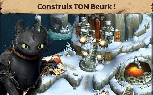 Capture d'écran Dragons : L'Envol de Beurk