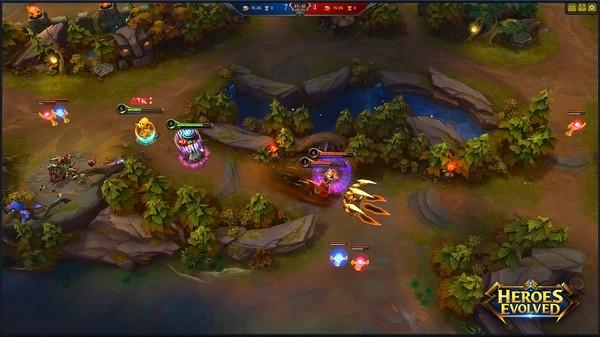 Capture d'écran Heroes Evolved
